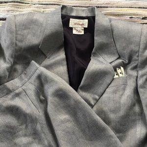 Vintage 80's Worthington skirt suit